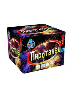 Купить Салют Пиротанец 100 залпов 20 мм в Казани