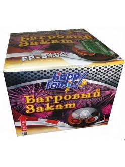 Купить Салют Багровый закат 36 залпов 20 мм в Казани