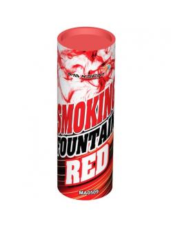 Цветной дым в Казани (Красный)