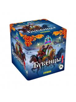 Купить Салют Бубенцы (модульный тип) 36 залпов 20 мм в Казани