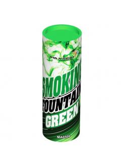 Цветной дым в Казани (Зеленый)